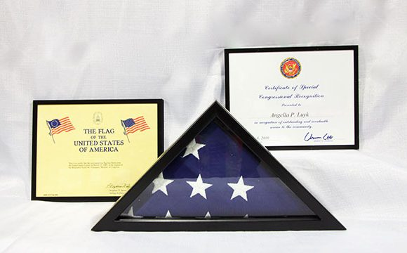 Certificate of Special Congressional Recognition 2009