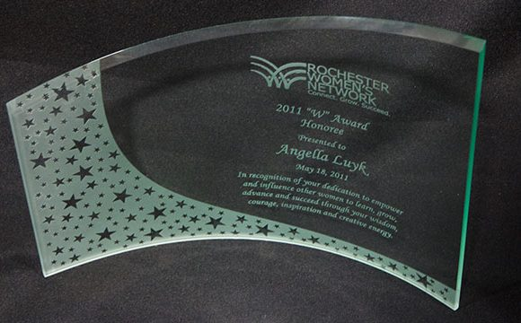 "Rochester Women's Network ""W"" Award Nominee 2011"