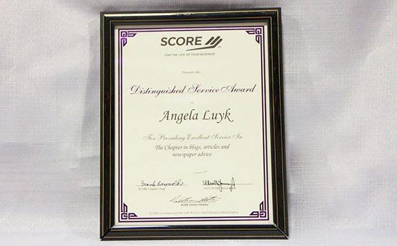 SCORE Distinguished Service Award